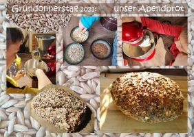 Brot Gründonnerstag Felix